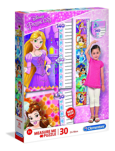 Clementoni Measure Me Disney Princess Large Wall Jigsaw 21x118cm
